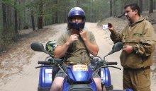 В Прибайкальском национальном парке с 1 апреля запретят кататься на квадроциклах