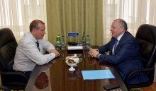 Сергей Левченко обсудил с Виталием Шубой инвестиционные проекты в регионе