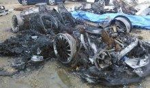 ВСША автовладелец выставил напродажу свой сгоревший Lamborghini