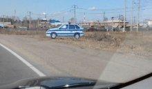 Картонная машина ДПС начала «патрулировать» трассу М-53