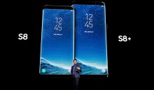 Компания Samsung презентовала новые смартфоны Galaxy S8 иS8+