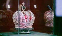 Украшение из 11500 бриллиантов покажут иркутянам