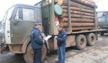 ВНижнеилимском районе полиция проверяет состояние транспорта, перевозящего древесину