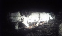 ВКуйтунском районе опрокинулся автомобиль Toyota Carina, погиб пассажир