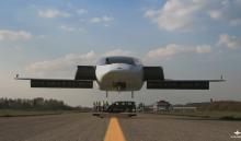 В Германии протестировали первый в мире летающий электромобиль с вертикальным взлетом