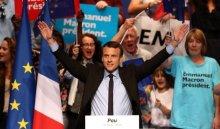 Макрон победил впервом туре выборов президента Франции