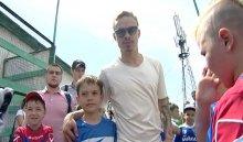 В Иркутске проходит футбольный турнир на призы Андрея Ещенко
