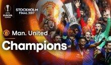 «Манчестер Юнайтед» впервые вистории стал победителем Лиги Европы