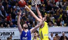 «Зенит» обыграл «Химки» впервом матче полуфинальной серии