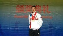 Иркутянин Дмитрий Рогов завоевал две медали на чемпионате Европы по ушу