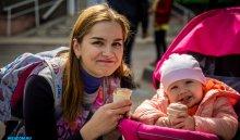 День защиты детей отпраздновали в Иркутске в микрорайоне Ново-Ленино (фотоотчет)