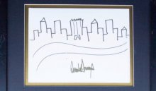 Рисунок Трампа выставят нааукционе за9тысяч долларов