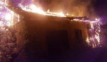 В Иркутске ночью 28 июля снова горело здание бывшего ИВВАИУ
