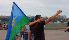 Жители Иркутска отпраздновали ДеньВДВ: смотри фотоотчет