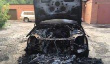 В Иркутске ночью 17 августа в результате поджога сгорели автомобили Mercedes и Volvo (Видео поджога)
