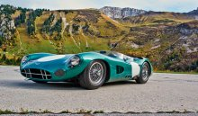 Британский гоночный автомобиль продан зарекордные 22,5$млн