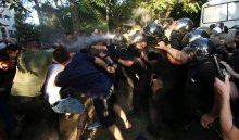 ВОдессе радикалы штурмовали суд после приговора по«делу 2мая»