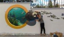 В Иркутске появилась  уличная галерея 3D-рисунков