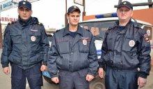 ВБратске патрульные полицейские задержали группу автомобильных воров