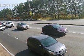 Култукский тракт - поворот из поселка Маркова в сторону Иркутска