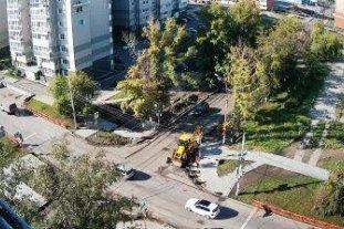 Перекресток ул. Муравьева - ул. Мира