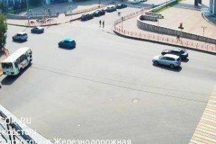 Перекресток ул. Маяковского - ул. 2-я Железнодорожная