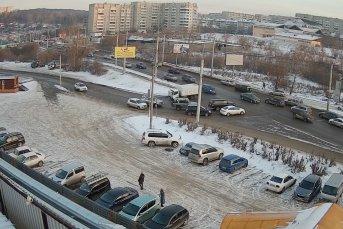 Мебельный центр «Москва», вид на мкр. Первомайский