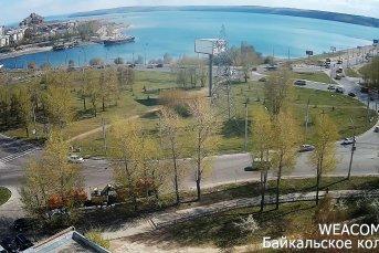 Вид на Байкальское кольцо и плотину ГЭС