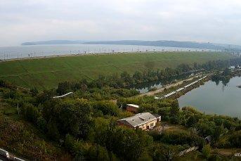 Онлайн-камера с видом на плотину Иркутской ГЭС