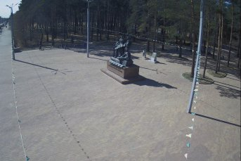 г.Ангарск, Памятник воинам-победителям, первостроителям Ангарска