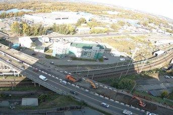 Иркутный мост - ул.Джамбула, реконструкция путепровода