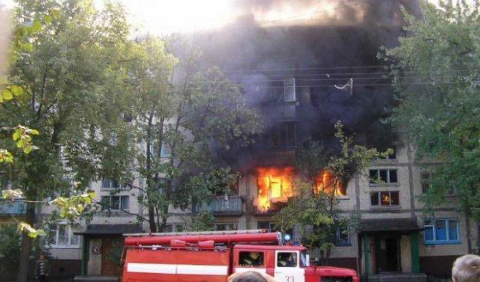 При пожаре в Усольском районе погиб новорождённый ребенок