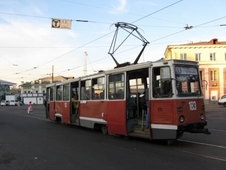 В Предместье Рабочем на месяц приостановят движение трамваев