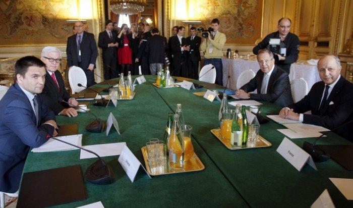 В Париже прошла встреча глав МИД