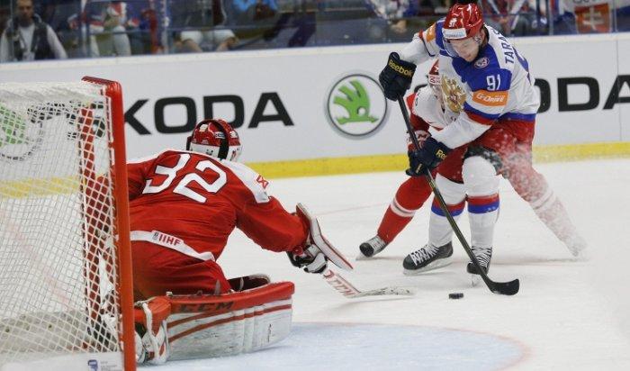 Сборная России по хоккею обыграла команду Дании в ЧМ-2015