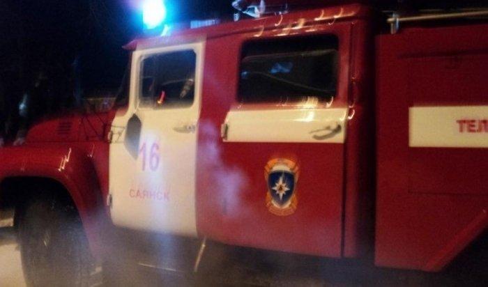 Пожарные спасли 13человек вСаянске