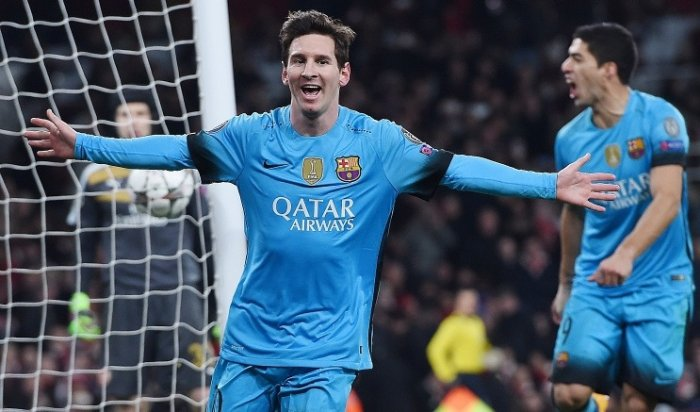 «Барселона» обыграла «Арсенал» вЛиге чемпионов