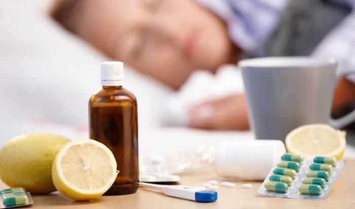 Более 500 больных гриппом госпитализировали на прошлой неделе в Приангарье