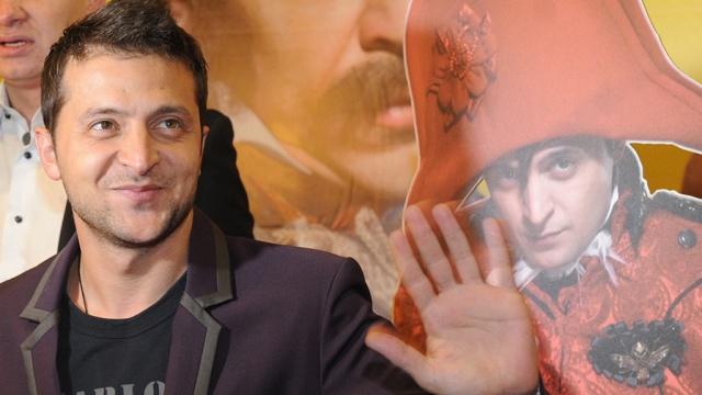 Напремьере фильма «8лучших свиданий» сЗеленским прошли акции протеста (ВИДЕО)