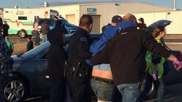 В Канзасе работник фабрики расстрелял из пистолета своих коллег