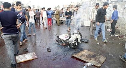 Врезультате двойного теракта вБагдаде погибли 70человек