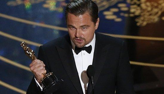 Леонардо ДиКаприо получил свой первый «Оскар»