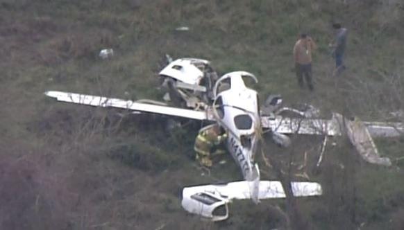 Четыре человека погибли при крушении самолёта вТехасе