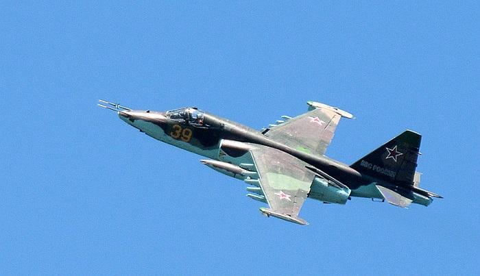 Вставропольском Буденновске разбился Су-25