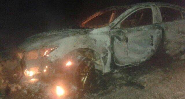 Mazda 6 сгорела в Иркутске