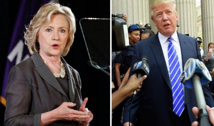 Клинтон иТрамп лидируют впредвыборной гонке