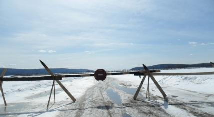 В Киренске из-за потепления закрыли ледовую переправу
