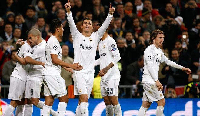 «Реал» обыграл «Рому» ивышел в¼финала Лиги чемпионов