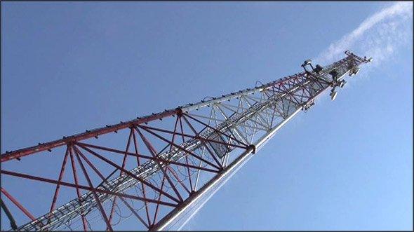 В Иркутском районе незаконно построена 30-метровая вышка сотовой связи