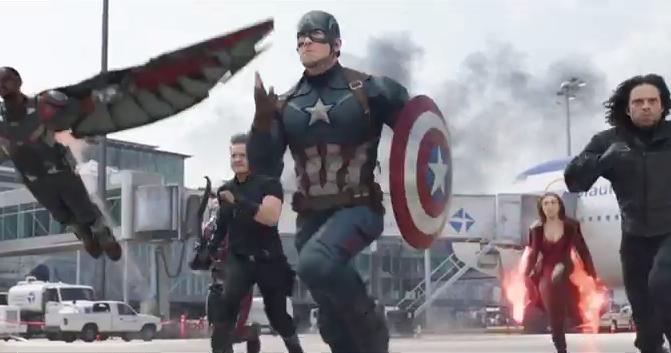 Опубликован новый трейлер к фильму «Первый мститель: Противостояние»
